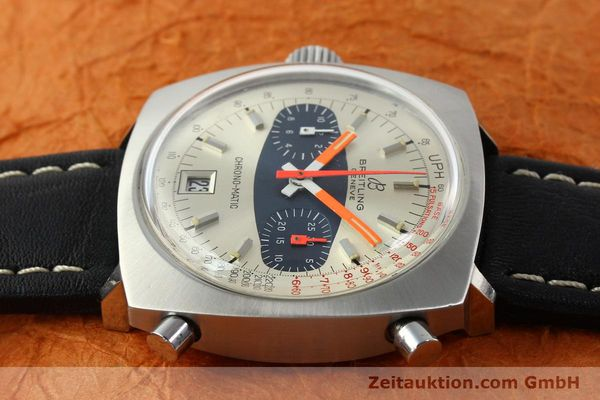 gebrauchte Luxusuhr Breitling Chrono-Matic Chronograph Stahl Automatik Kal. 11 Ref. 2111  | 141379 05