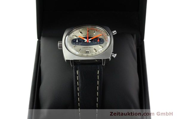 gebrauchte Luxusuhr Breitling Chrono-Matic Chronograph Stahl Automatik Kal. 11 Ref. 2111  | 141379 07