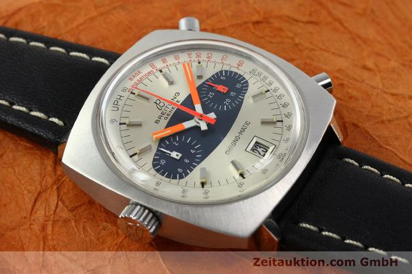 gebrauchte Luxusuhr Breitling Chrono-Matic Chronograph Stahl Automatik Kal. 11 Ref. 2111  | 141379 13