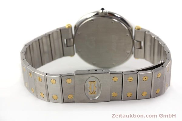 Used luxury watch Cartier Santos Ronde steel / gold quartz Kal. 81  | 141380 10