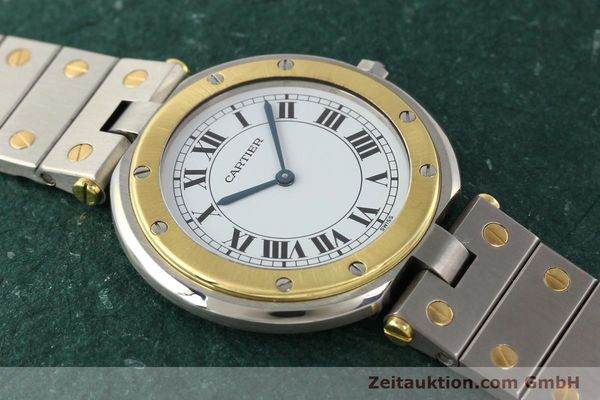 Used luxury watch Cartier Santos Ronde steel / gold quartz Kal. 81  | 141380 12