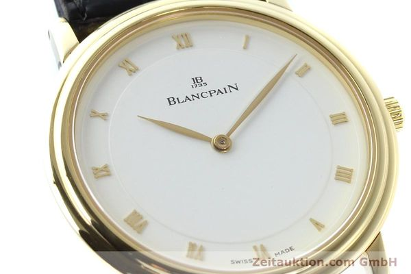 Used luxury watch Blancpain Villeret 18 ct gold automatic  | 141383 02