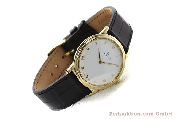 Used luxury watch Blancpain Villeret 18 ct gold automatic  | 141383 03