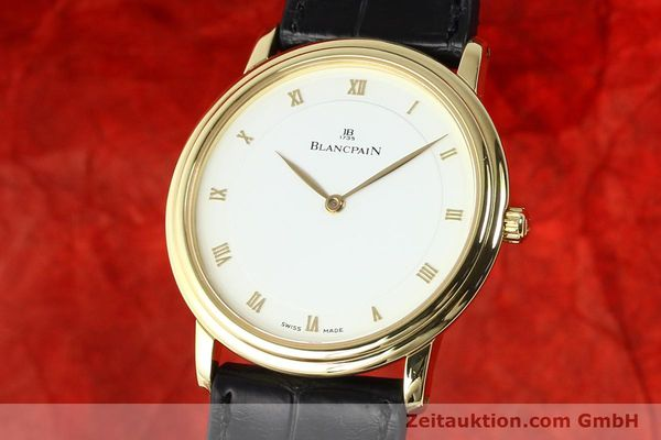 Used luxury watch Blancpain Villeret 18 ct gold automatic  | 141383 04