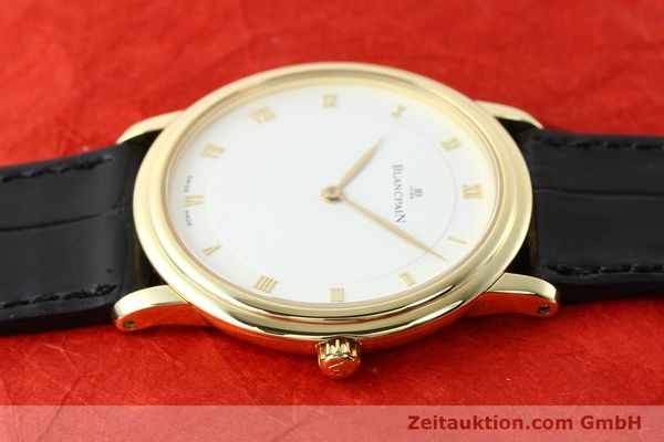 Used luxury watch Blancpain Villeret 18 ct gold automatic  | 141383 05