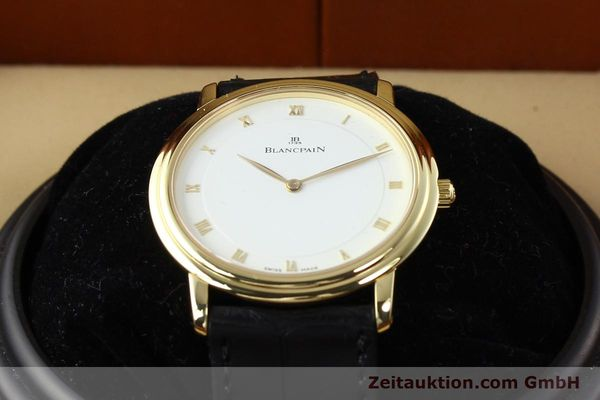 Used luxury watch Blancpain Villeret 18 ct gold automatic  | 141383 07