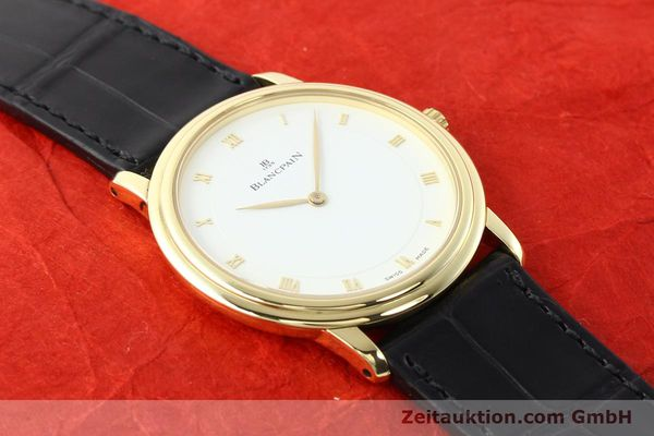 Used luxury watch Blancpain Villeret 18 ct gold automatic  | 141383 15