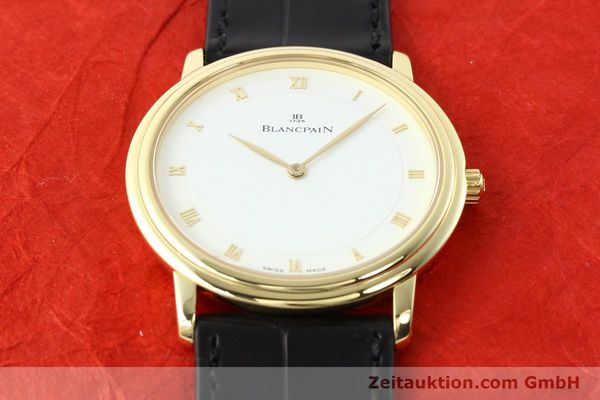 Used luxury watch Blancpain Villeret 18 ct gold automatic  | 141383 16