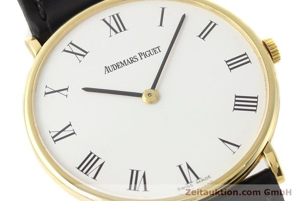 Used luxury watch Audemars Piguet * 18 ct gold manual winding Kal. 2003/2  | 141384 02