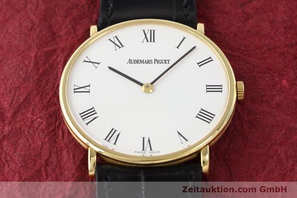 Used luxury watch Audemars Piguet * 18 ct gold manual winding Kal. 2003/2  | 141384 14