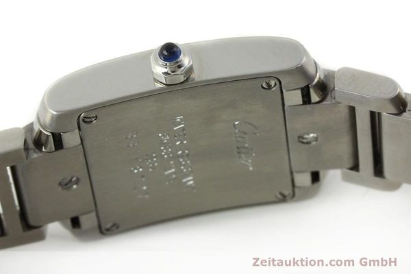 Used luxury watch Cartier Tank steel quartz Kal. 057  | 141385 08