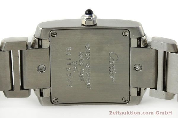 Used luxury watch Cartier Tank steel quartz Kal. 057  | 141385 09