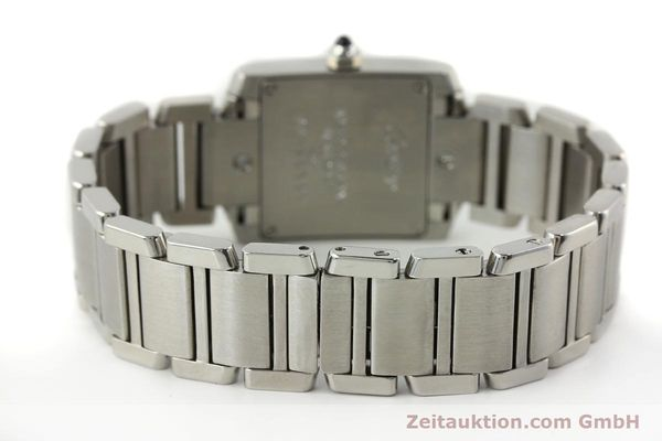 Used luxury watch Cartier Tank steel quartz Kal. 057  | 141385 10