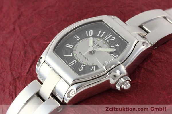 Used luxury watch Cartier Roadster steel automatic Kal. 3110 ETA 2892A2  | 141387 01