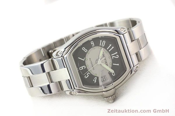 Used luxury watch Cartier Roadster steel automatic Kal. 3110 ETA 2892A2  | 141387 03