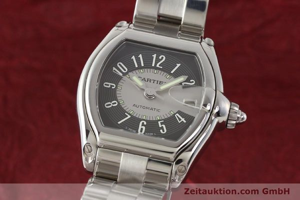 Used luxury watch Cartier Roadster steel automatic Kal. 3110 ETA 2892A2  | 141387 04