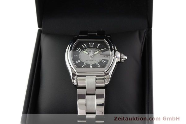 Used luxury watch Cartier Roadster steel automatic Kal. 3110 ETA 2892A2  | 141387 07