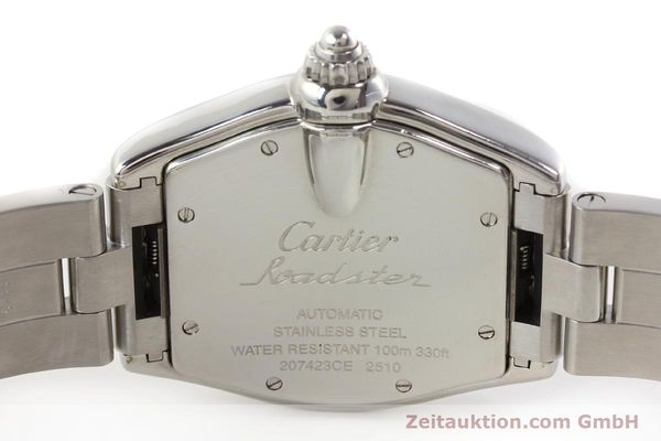 Used luxury watch Cartier Roadster steel automatic Kal. 3110 ETA 2892A2  | 141387 09
