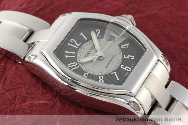 Used luxury watch Cartier Roadster steel automatic Kal. 3110 ETA 2892A2  | 141387 13