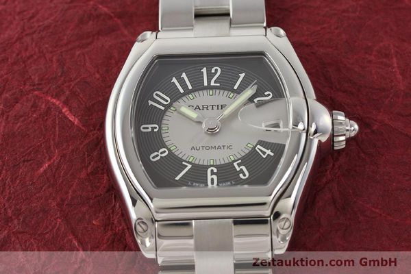 Used luxury watch Cartier Roadster steel automatic Kal. 3110 ETA 2892A2  | 141387 14