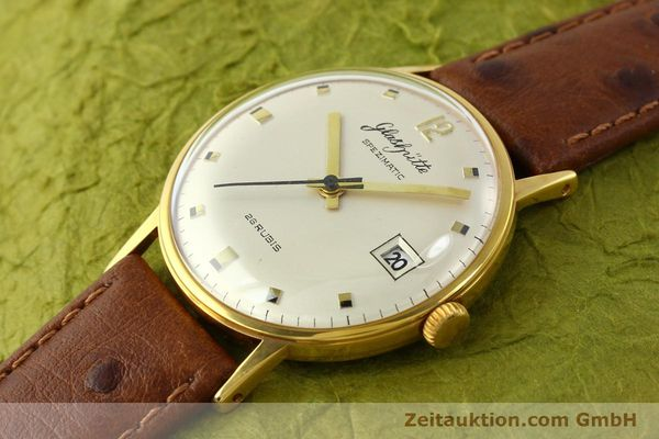 Used luxury watch Glashütte Spezimatic gold-plated automatic Kal. 75  | 141388 01