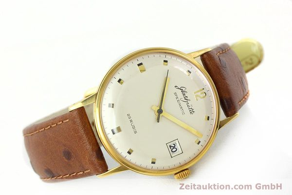 Used luxury watch Glashütte Spezimatic gold-plated automatic Kal. 75  | 141388 03