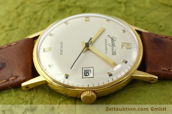 Used luxury watch Glashütte Spezimatic gold-plated automatic Kal. 75  | 141388 05