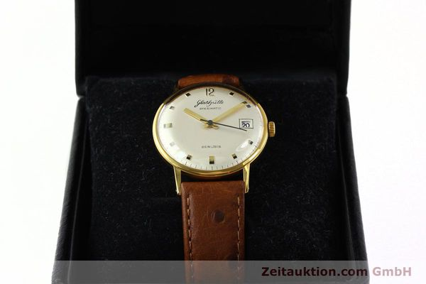 Used luxury watch Glashütte Spezimatic gold-plated automatic Kal. 75  | 141388 07