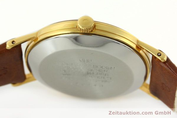 Used luxury watch Glashütte Spezimatic gold-plated automatic Kal. 75  | 141388 08