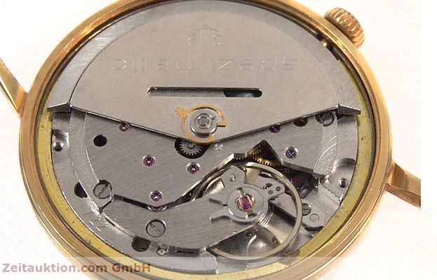 Used luxury watch Glashütte Spezimatic gold-plated automatic Kal. 75  | 141388 10