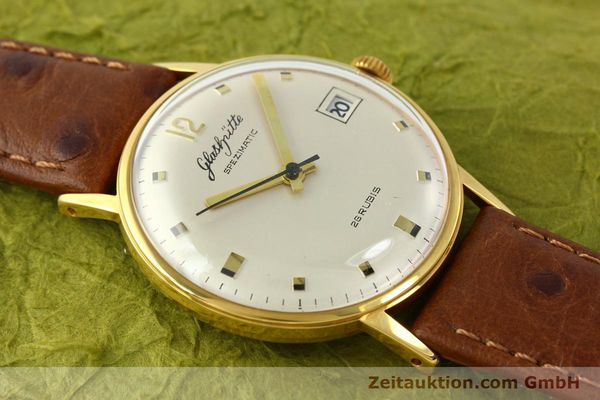Used luxury watch Glashütte Spezimatic gold-plated automatic Kal. 75  | 141388 12