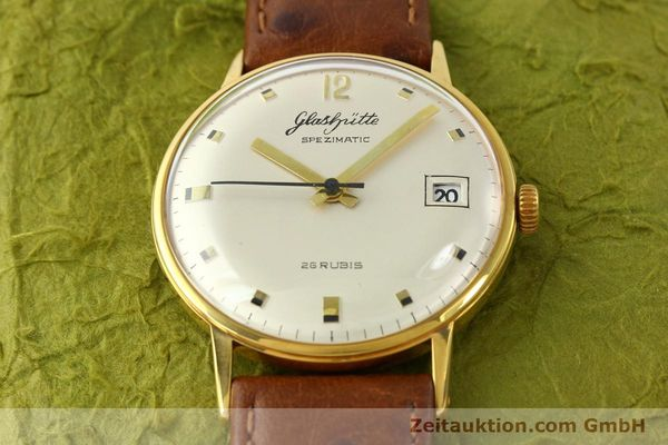 Used luxury watch Glashütte Spezimatic gold-plated automatic Kal. 75  | 141388 13