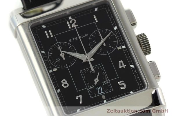 Used luxury watch Eterna 1935 chronograph steel quartz Kal. ETA 251.471 Ref. 8290.41  | 141389 02