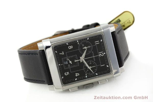 Used luxury watch Eterna 1935 chronograph steel quartz Kal. ETA 251.471 Ref. 8290.41  | 141389 03