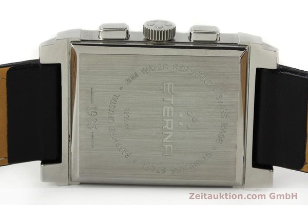 Used luxury watch Eterna 1935 chronograph steel quartz Kal. ETA 251.471 Ref. 8290.41  | 141389 09