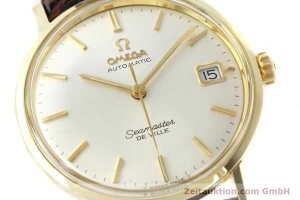 Used luxury watch Omega Seamaster 14 ct yellow gold automatic Ref. 166020SC  | 141390 02