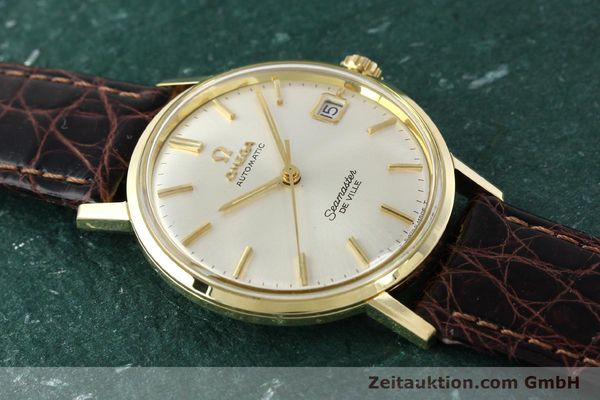 Used luxury watch Omega Seamaster 14 ct yellow gold automatic Ref. 166020SC  | 141390 14