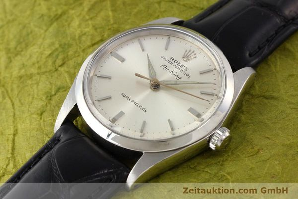 Used luxury watch Rolex Air King steel automatic Kal. 1530 Ref. 5500  | 141392 01