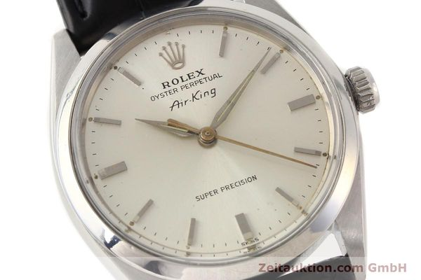 Used luxury watch Rolex Air King steel automatic Kal. 1530 Ref. 5500  | 141392 02