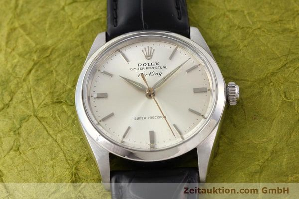Used luxury watch Rolex Air King steel automatic Kal. 1530 Ref. 5500  | 141392 14