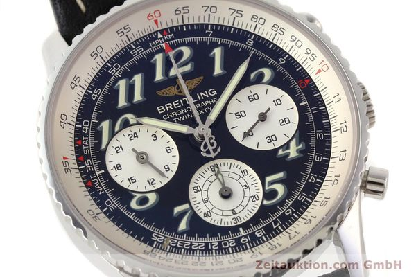 Used luxury watch Breitling Navitimer steel automatic Kal. B39 ETA 2892A2 Ref. A39022.1  | 141394 02