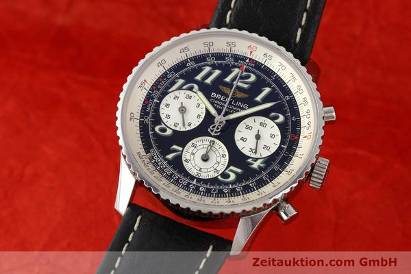 Used luxury watch Breitling Navitimer steel automatic Kal. B39 ETA 2892A2 Ref. A39022.1  | 141394 04