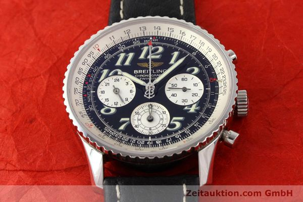 Used luxury watch Breitling Navitimer steel automatic Kal. B39 ETA 2892A2 Ref. A39022.1  | 141394 14