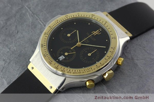 Used luxury watch Hublot MDM gilt steel quartz Ref. 1621.2  | 141396 01