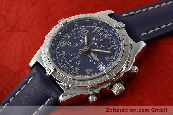 Used luxury watch Breitling Chronomat steel automatic Kal. B13 ETA 7750 Ref. A13050.1  | 141397 01