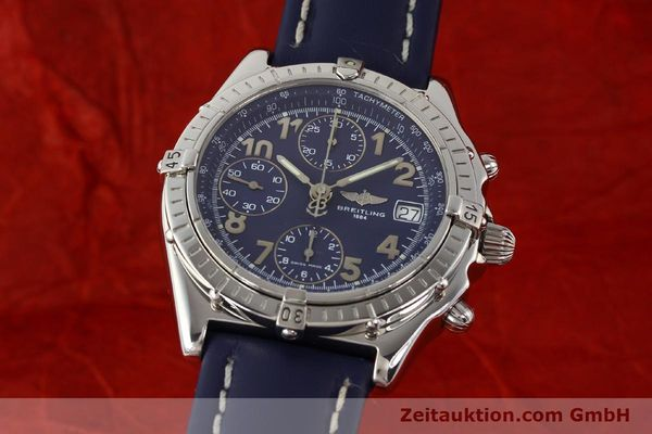 Used luxury watch Breitling Chronomat steel automatic Kal. B13 ETA 7750 Ref. A13050.1  | 141397 04