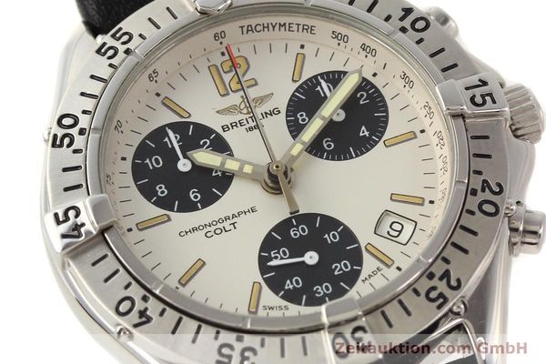 Used luxury watch Breitling Colt steel quartz Kal. B53 Ref. A53035  | 141398 02