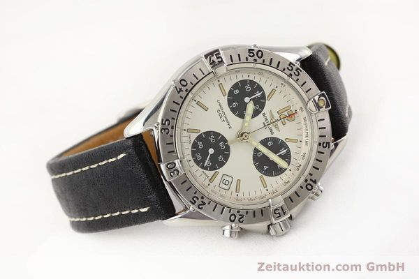 Used luxury watch Breitling Colt steel quartz Kal. B53 Ref. A53035  | 141398 03