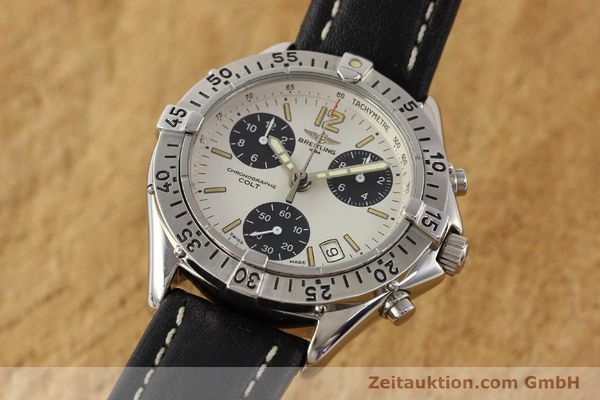Used luxury watch Breitling Colt steel quartz Kal. B53 Ref. A53035  | 141398 04