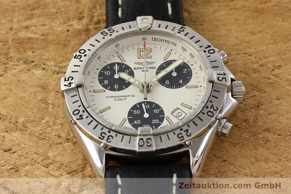 Used luxury watch Breitling Colt steel quartz Kal. B53 Ref. A53035  | 141398 13